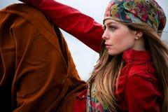 Gypsy style fashion Royalty Free Stock Image