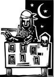 Gypsy Tarot Reading Simple Royalty Free Stock Image