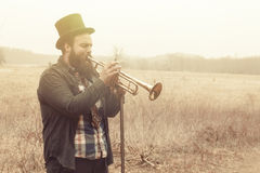 Gypsy Trumpet Stock Image