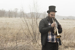 Gypsy Trumpet Royalty Free Stock Photography