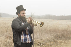 Gypsy Trumpet Royalty Free Stock Photos