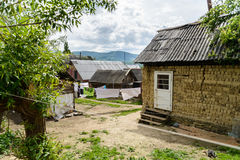 Gypsy village in Ukraine Royalty Free Stock Photography