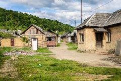 Gypsy village in Ukraine Stock Photography