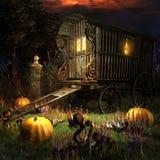 Gypsy Wagon Stock Photo