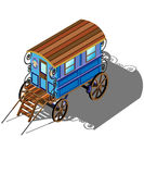 Gypsy wagon Royalty Free Stock Photo