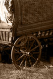 Gypsy Wagon Wheel Stock Image
