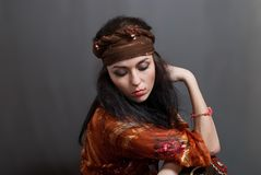 Gypsy woman Royalty Free Stock Photos