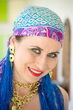 Gypsy woman Stock Photos