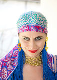 Gypsy woman Stock Photography