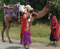 Gypsy Women in India Royalty Free Stock Photo