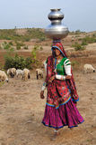 Gypsy Women in India Royalty Free Stock Photography