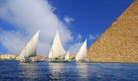 Ägyptische Abstraktion Lizenzfreies Stockfoto