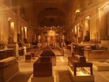 ?gyptisches Museum in Kairo stockbilder