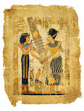 Ägyptisches Pergament Lizenzfreies Stockfoto