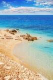 Gyra beach, Lefkada, Greece Royalty Free Stock Images