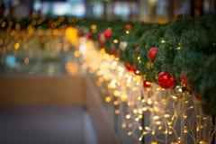 Gyrland di Natale Immagine Stock Libera da Diritti