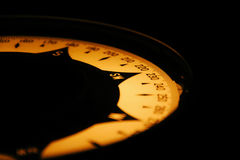 Gyro kompasu donosicielka na statku moscie Obraz Royalty Free