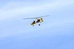 gyrocopter υπερβολικά ελαφρύ στοκ εικόνα