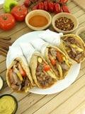 Gyros or kebab Stock Photos