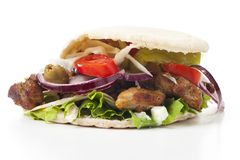 Gyros kebab Royalty Free Stock Photography