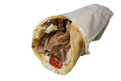 Gyros Pita Royalty Free Stock Photo