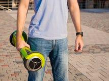 Gyroscooter, cuerpo, cierre para arriba Fotos de archivo