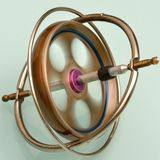 Gyroscope in color Royalty Free Stock Photography