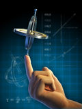 Gyroscope physics Stock Photos