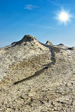 Gyttjavolcanoes Royaltyfri Foto