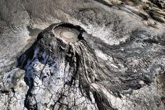 Gyttjavolcanoes arkivfoton