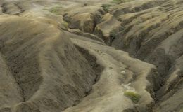 Gyttjavulcanoes Arkivbild