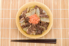Gyudon Stock Photos