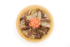 Gyudon Royalty Free Stock Photo