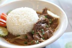 Gyudon ,Japanese beef rice bowl. Stock Photography
