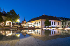 Gyula town in Hungary Stock Image