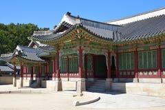 Gyung Bok宫殿 图库摄影