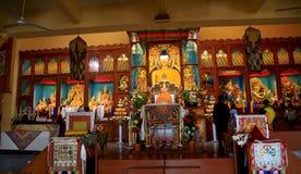 gyuto修道院神秘的大学 图库摄影