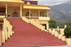 Gyuto Tantric Monastery. India, Dharamsala. Gyuto Tantric Monastery Royalty Free Stock Photos