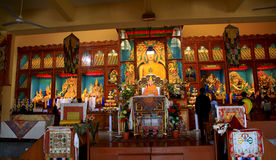 Gyuto tantric monastic university. The gyuto monastery is one of the most famous monasteries in Tibet and specializes in the study of tantric meditation, tantric Stock Photography