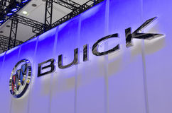 2013 GZ AUTOSHOW-BUICK logo Stock Photos