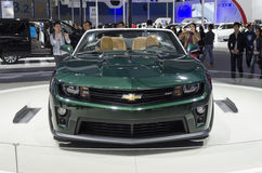 2013 GZ AUTOSHOW-CHEVROLET Camaro ZL1. CHEVROLET Camaro ZL1 in The 11th China (Guangzhou) International Automobile Exhibition, in China Import and Export Fair Stock Photo