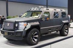 2013 GZ AUTOSHOW-George Patton toppna SUV Arkivbild