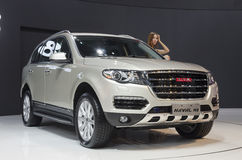2013 GZ AUTOSHOW-HAVAL H8 SUV. Greatwall SUV HAVAL H8 in The 11th China (Guangzhou) International Automobile Exhibition, in China Import and Export Fair Complex Stock Images