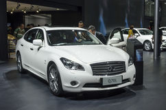 2013 GZ AUTOSHOW-INFINITI Q70L Royalty Free Stock Photos