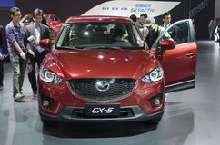 2013 GZ AUTOSHOW-Mazda SUV CX-5 Stockfotos