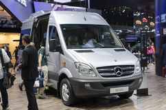 2013 GZ AUTOSHOW-Mercedes Benz MPV Sprinter Royalty Free Stock Photography