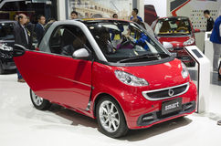 2013 GZ AUTOSHOW-SMART. A red SMART in The 11th China (Guangzhou) International Automobile Exhibition, in China Import and Export Fair Complex, Pazhou, Guangzhou Stock Photography