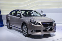 2013 GZ AUTOSHOW-SUBARU Legacy. SUBARU Legacy, in The 11th China (Guangzhou) International Automobile Exhibition, in China Import and Export Fair Complex, Pazhou Stock Photos