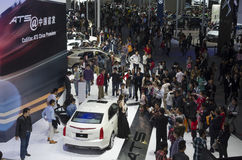 2013 GZ Cadillac wystawa przegapia fotografia stock