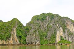 Ha Long Bay, Vietnam UNESCO World Heritage Royalty Free Stock Photography